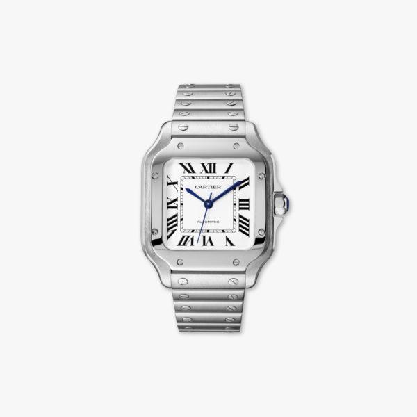 Santos de Cartier Medium Model in stainless steel