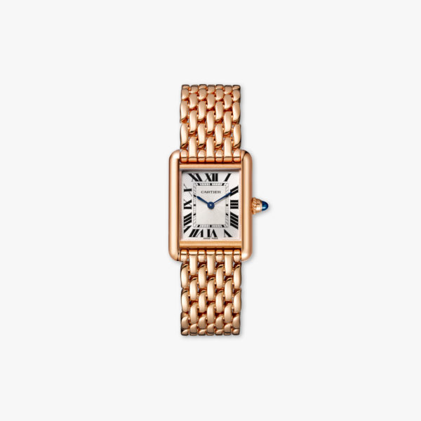 Watch Cartier Tank Louis Cartier Small Modele Wgta0023 Rose Gold Maison De Greef 1848