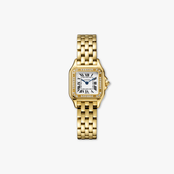 Panthère de Cartier Small Model in yellow gold, set with diamonds
