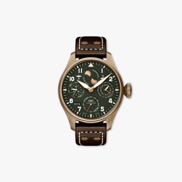 Watch Iwc Pilots Watches Spitfire Perpetual Calendar Limited Edition Iw503601 Bronze Green Maison De Greef 1848