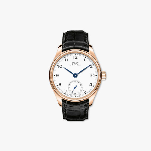 Watch Iwc Portugieser Hand Wound Eight 8 Days Edition 150 Years Iw510211 Rose White Gold Maison De Greef 1848