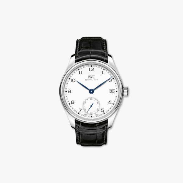 Watch Iwc Portugieser Hand Wound Eight 8 Days Edition 150 Years Iw510212 Stainless Steel White Maison De Greef 1848