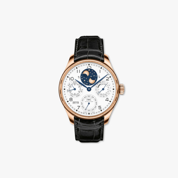 Watch Iwc Portugieser Perpetual Calendar Edition 150 Years Iw503405 Rose Gold Maison De Greef 1848