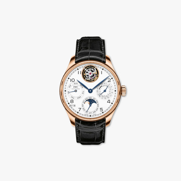 Watch Iwc Portugieser Perpetual Calendar Tourbillon Edition 150 Years Iw504501 Rose Gold Maison De Greef 1848