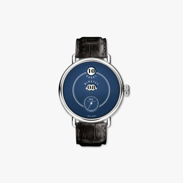 Watch Iwc Tribute To Pallweber Edition 150 Years Iw505003 Stainless Steel Blue Maison De Greef 1848