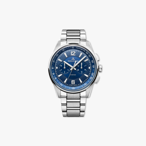 Watch Jaeger Lecoultre Polaris Chronograph Q9028180 Steel Blue Maison De Greef 1848