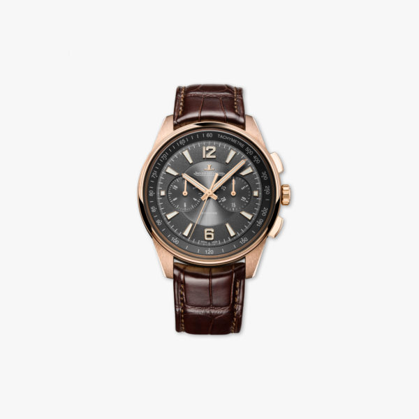 Watch Jaeger Lecoultre Polaris Chronographe Q9022450 Gold Rose Maison De Greef 1848