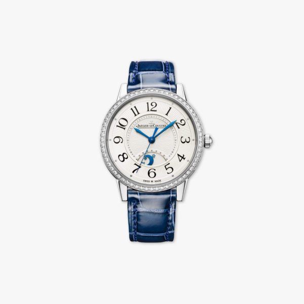 Watch Jaeger Lecoultre Rendez Vous Night Day Medium Q3448430 Steel Diamonds Blue Maison De Greef 1848