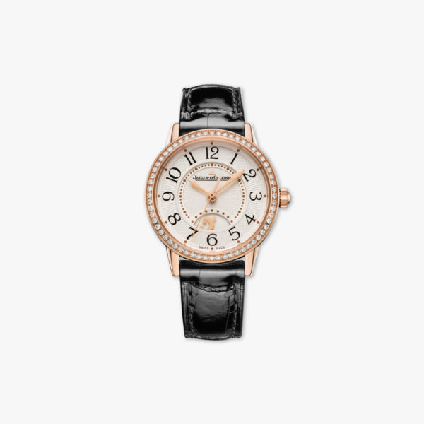 Rendez-Vous Night & Day Small in rose gold , set with diamonds