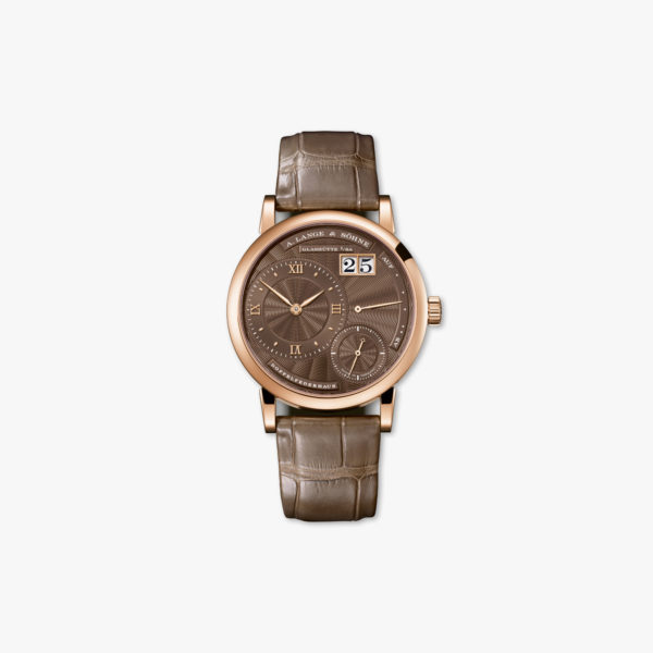 Watch Lange Sohne Little Lange 1 181 037 Rose Gold Brown Maison De Greef 1848