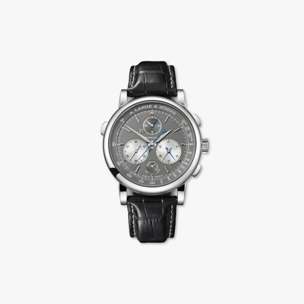 Watch Lange Sohne Saxonia Triple Split 424 038 White Gold Grey Maison De Greef 1848