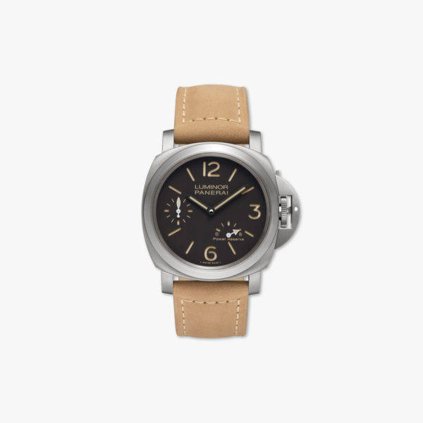 Watch Panerai Luminor 8 Days Power Reserve Titanio 44Mm Pam00797 Titanium Brown Maison De Greef 1848