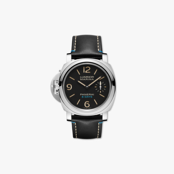 Watch Panerai Luminor Left Handed 8 Days Acciaio 44Mm Pam00796 Stainless Steel Black Maison De Greef 1848