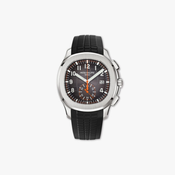 Watch Patek Philippe Aquanaut Chronograph 5968 A 001 Stainless Steel Rubber Black Maison De Greef 1848