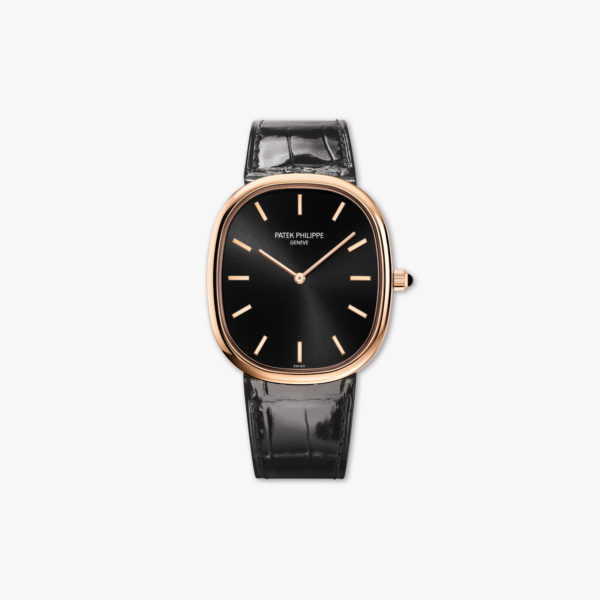 Watch Patek Philippe Golden Ellipse 5738 R 001 Rose Gold Black Maison De Greef 1848