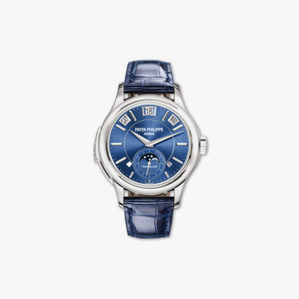 Watch Patek Philippe Grand Complications Minute Repeater Tourbillon Perpetual Calendar 5207 G 001 White Gold Blue Maison De Greef 1848