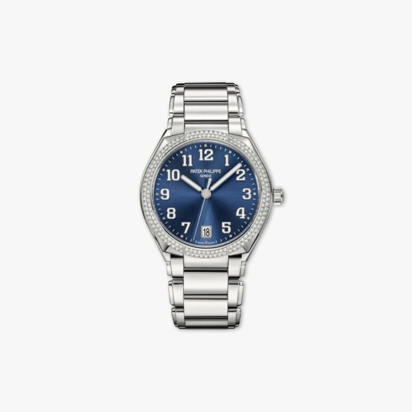 Watch Patek Philippe Twenty 4 7300 1200 A 001 Stainless Steel Diamonds Blue Maison De Greef 1848