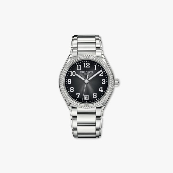 Watch Patek Philippe Twenty 4 7300 1200 A 010 Stainless Steel Diamonds Grey Maison De Greef 1848