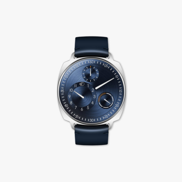 Watch Ressence Type 1² N Night Blue Squared Stainless Steel Night Blue Maison De Greef 1848
