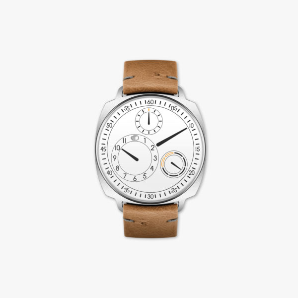 Watch Ressence Type 1² W White Squared Stainless Steel White Maison De Greef 1848