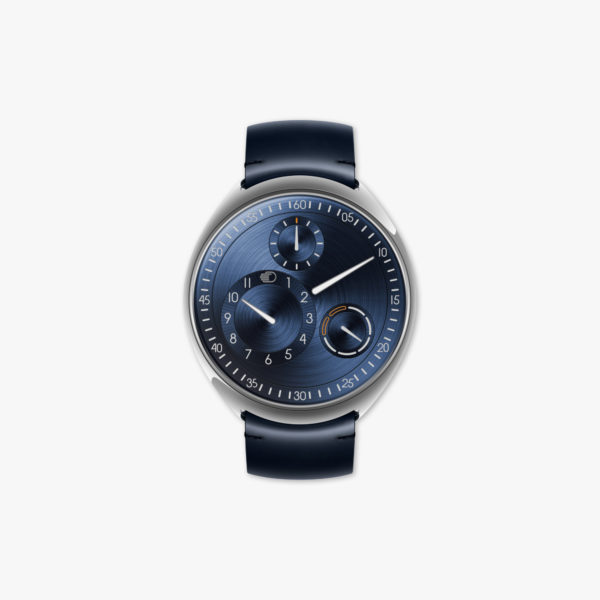 Watch Ressence Type 1 N Slim Night Blue Titane Blue Maison De Greef 1848