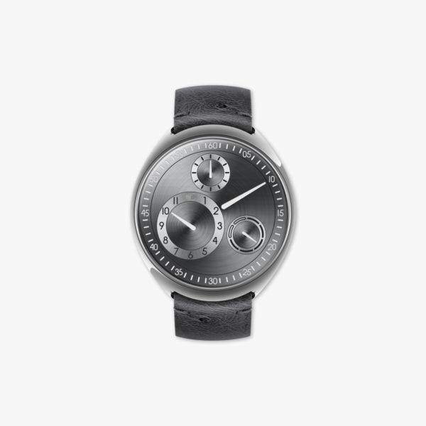 Watch Ressence Type 1 R Slim Ruthenium Silver Titane Grey Maison De Greef 1848