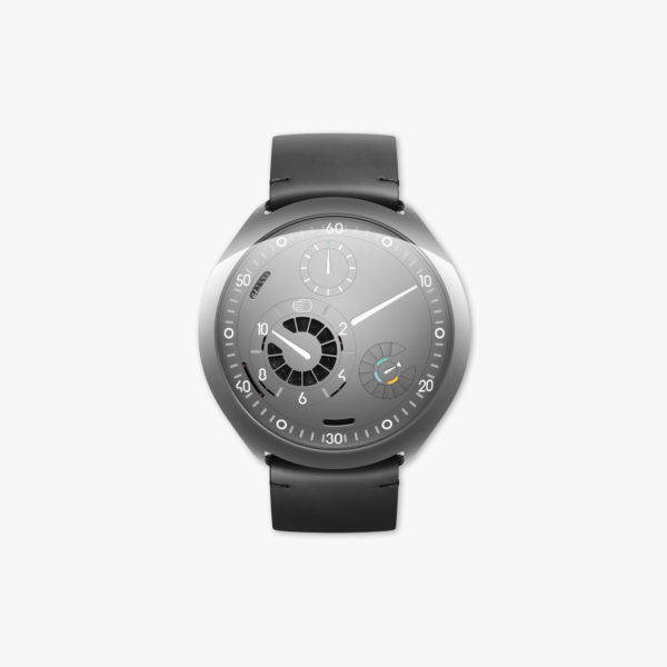 Watch Ressence Type 2 G Grey E Crown Titanium Grey Maison De Greef 1848