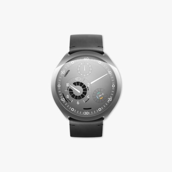 Watch Ressence Type 2 G Grey E Crown Titanium Grey Maison De Greef 1848