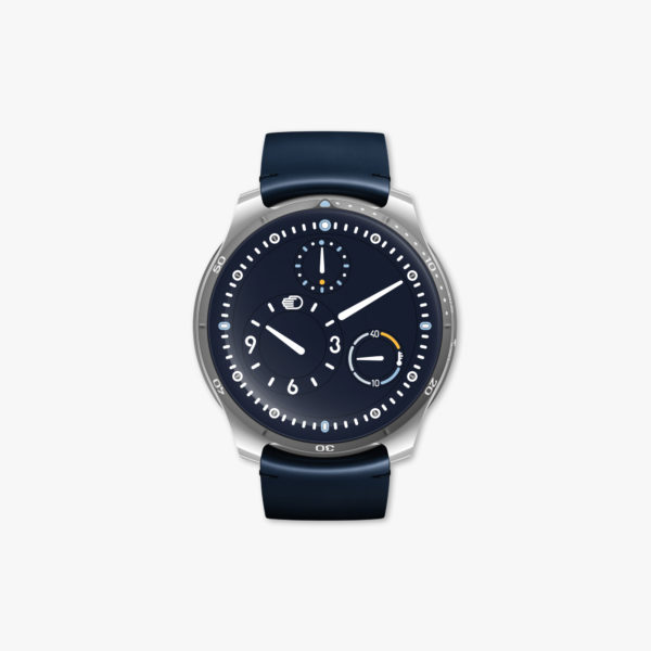 Watch Ressence Type 5 N Night Blue Blue Titanium Maison De Greef 1848