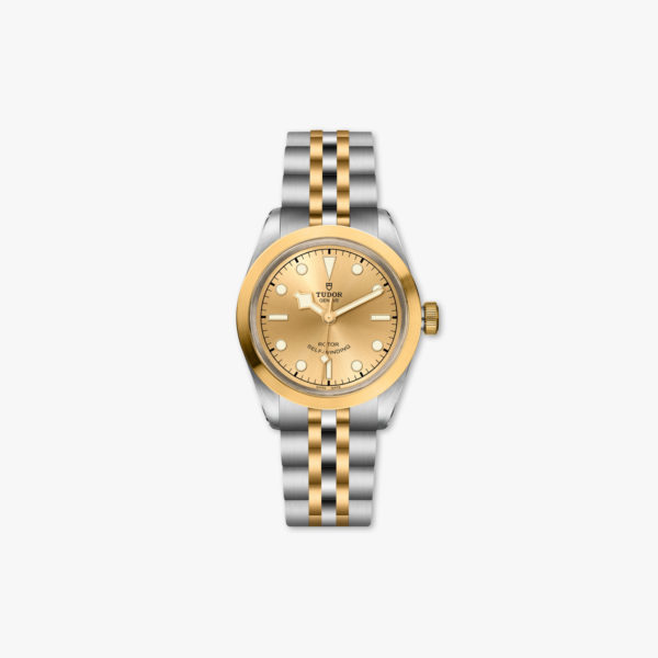 Watch Tudor Black Bay 32 Steel Gold M79583 0002 Champagne Stainless Steel Yellow Gold Maison De Greef 1848