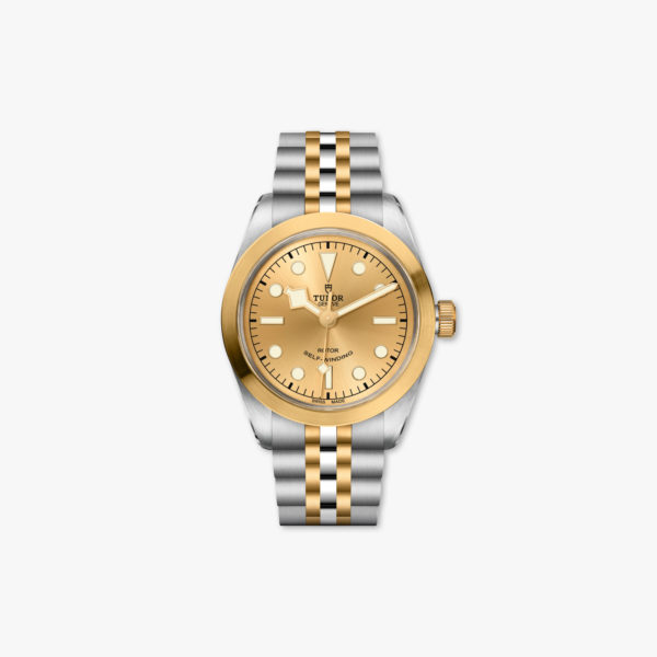 Watch Tudor Black Bay 36 Steel Gold M79503 0002 Champagne Stainless Steel Yellow Gold Maison De Greef 1848