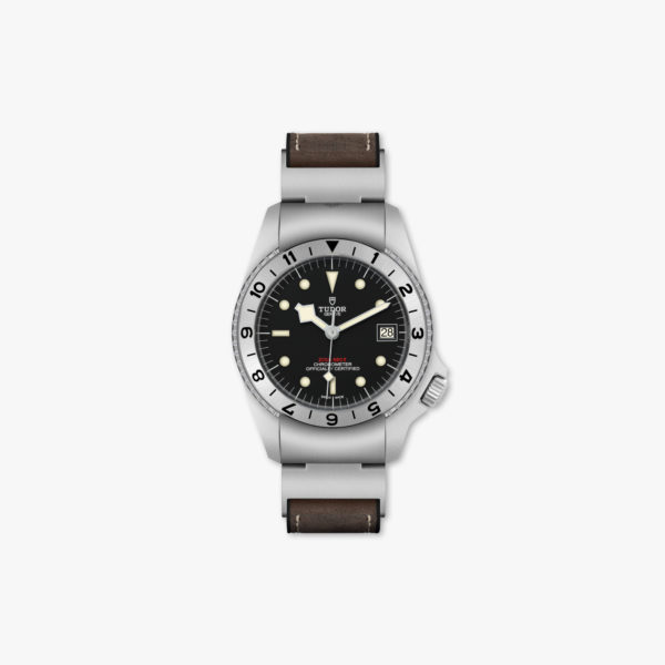 Watch Tudor Black Bay P01 M70150 0001 Stainless Steel Black Leather Maison De Greef 1848