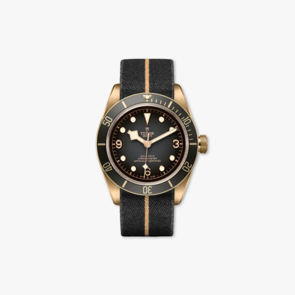 Watch Tudor Black Bay Bronze M79250 Ba 0002 Slate Tissue Maison De Greef 1848