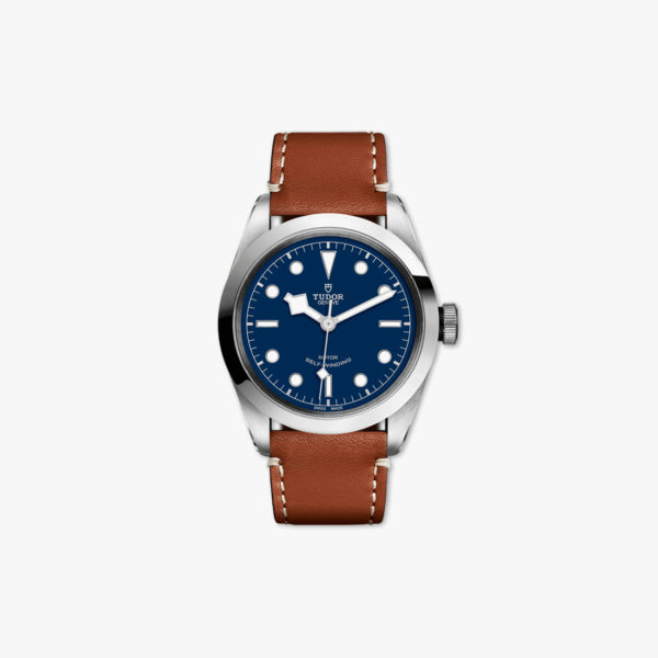 Watch Tudor Heritage Black Bay 41 M79540 0005 Stainless Steel Blue Leather Gold Maison De Greef 1848