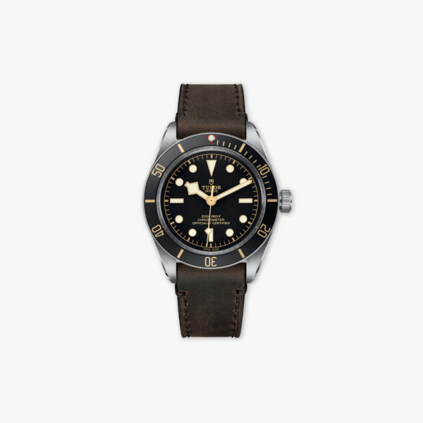Watch Tudor Heritage Black Bay Fifty Eight 58 M79030 N 0002 Stainless Steel Leather Maison De Greef 1848