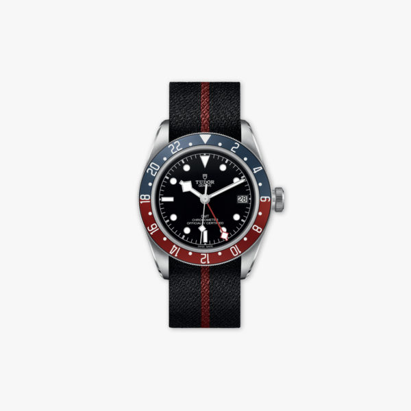 Watch Tudor Heritage Black Bay Gmt M79830 Rb 0003 Stainless Steel Tissue Red Blue Maison De Greef 1848