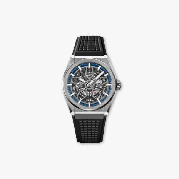 Watch Zenith Defy Classic Elite 95 9000 670 78 R782 Titanium Rubber Openworked Maison De Greef 1848