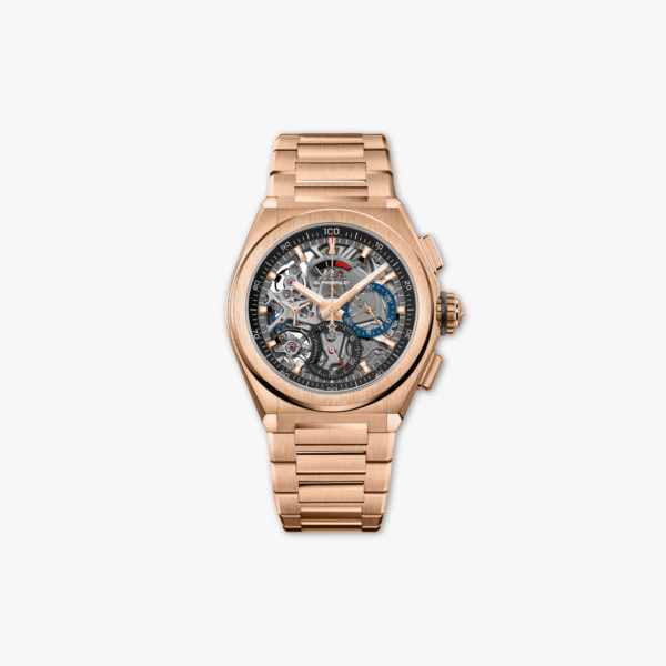 Watch Zenith Defy El Primero 21 18 9000 9004 71 M9000 Rose Gold Chronograph Maison De Greef 1848