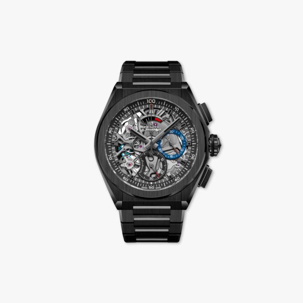 Watch Zenith Defy El Primero 21 49 9000 9004 78 M9000 Ceramic Black Chronograph Maison De Greef 1848