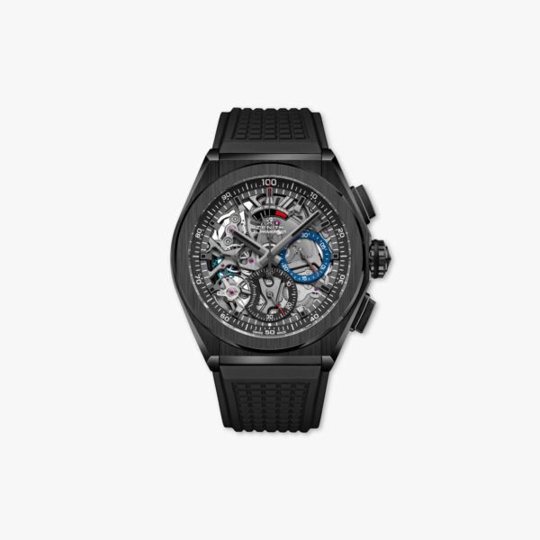 Watch Zenith Defy El Primero 21 49 9000 9004 78 R782 Ceramic Black Rubber Chronograph Maison De Greef 1848
