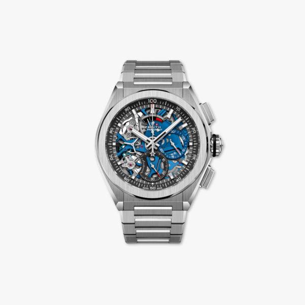 Watch Zenith Defy El Primero 21 95 9002 9004 78 M9000 Titanium Blue Chronograph Maison De Greef 1848