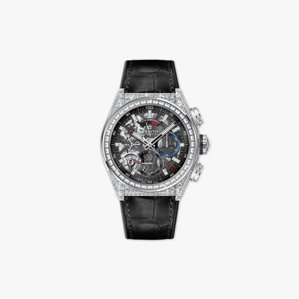 Watch Zenith Defy El Primero 32 9000 9004 78 R582 Titanium Diamonds Chronograph Maison De Greef 1848