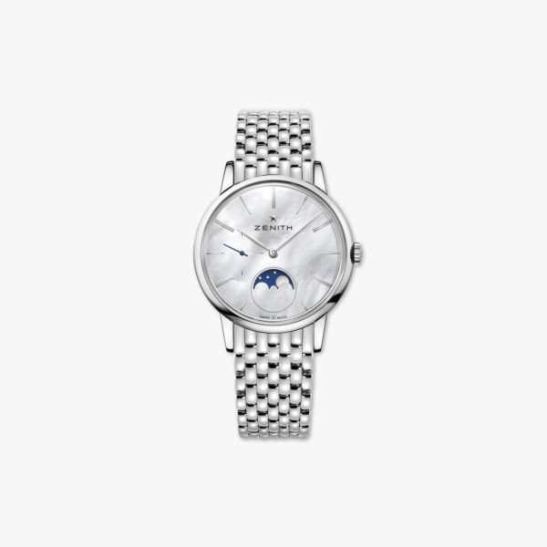Watch Zenith Elite Lady Moonphase 36 03 2320 692 80 M2320 Steel Mother Of Pearl Maison De Greef 1848