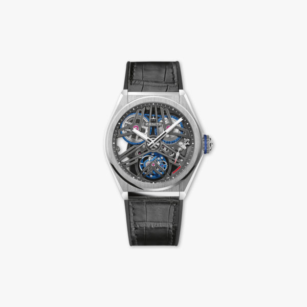 Defy Fusee Tourbillon in platinum