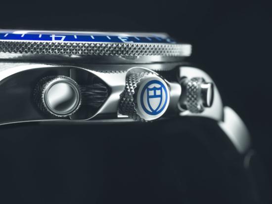 Tudor Heritage Chrono Blue 70330B Silver 02