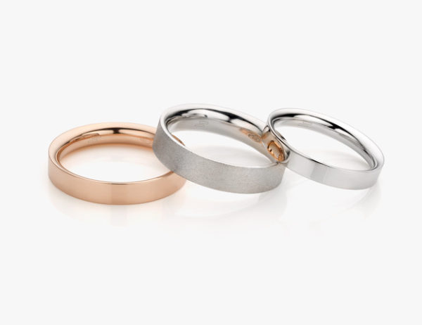 Wedding ring Epure model