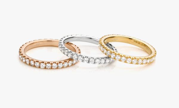 Wedding ring Eternity model
