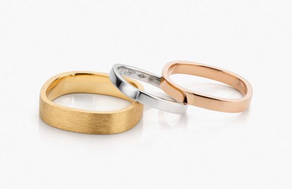 Alliances Bold Wedding Maison De Greef 1848